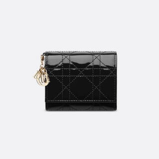 ディオール(Dior)のLADY DIOR ロータスウォレット(財布)