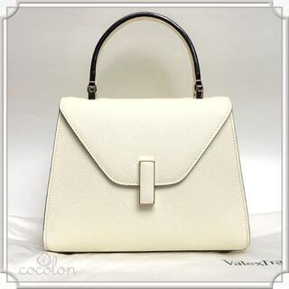 ヴァレクストラ(Valextra)の新品 valextra ヴァレクストラ ISIDE ミニ バッグ ホワイト(ハンドバッグ)