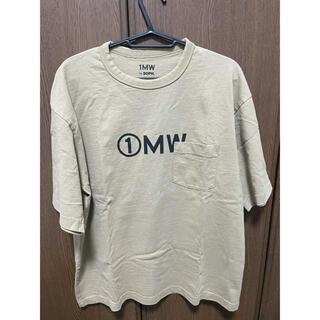 ソフ(SOPH)のgu soph コラボ Tシャツ サイズM ベージュ ソフ soph(Tシャツ/カットソー(半袖/袖なし))