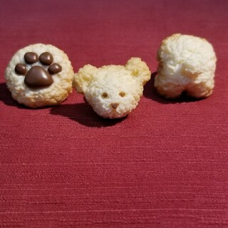 キューポット(Q-pot.)のキューポット ベアー くま リング 指輪 クッキー おしり 顔 肉球 かお お尻(リング(指輪))