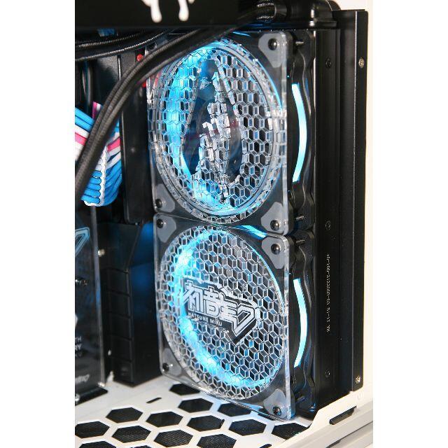 ASUS(エイスース)の新品未開封MOMA MOD PC HATSUNE MIKU EDITION限定版 スマホ/家電/カメラのPC/タブレット(デスクトップ型PC)の商品写真