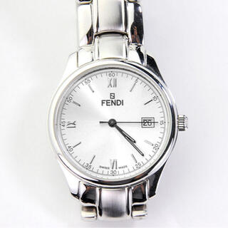 フェンディ(FENDI)の【送料無料】腕時計 フェンディ210G ブランド時計 男性用 美品 電池新品(腕時計(アナログ))
