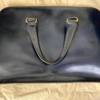 ガンゾ(GANZO)のGANZO BRIDLE (ブライドル)ブリーフケース ネイビー(ビジネスバッグ)