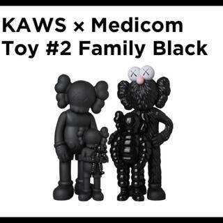 メディコムトイ(MEDICOM TOY)のKAWS FAMILY BLACK kaws tokyo カウズ ベアブリック (その他)