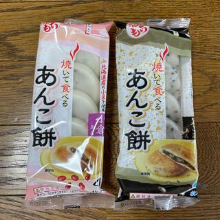 あんこ餅(小倉+黒ごま)(菓子/デザート)