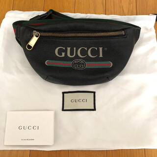 Gucci - グッチプリント スモール ベルトバッグ