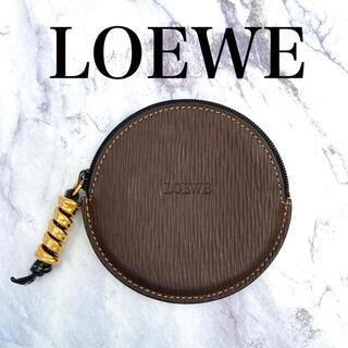 ロエベ(LOEWE)のオールドロエベ★LOEWE ベラスケス コインケース 小物入れ ブラウン(コインケース)