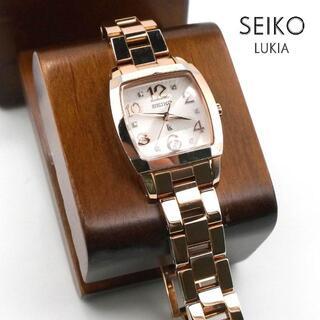 グランドセイコー(Grand Seiko)の《一点物》SEIKO Lukia 腕時計 ピンクゴールド デイト 10気圧防水(腕時計)
