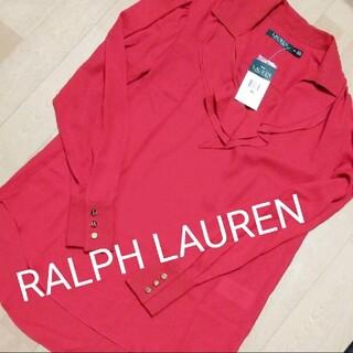ラルフローレン(Ralph Lauren)のLAUREN RALPH LAUREN ブラウス 金ボタン 新品 レディース(シャツ/ブラウス(長袖/七分))