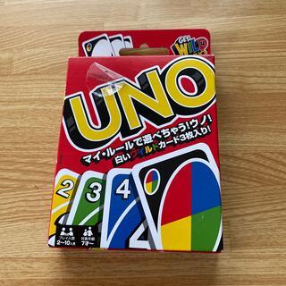 ウーノ(UNO)のマテル社 UNO カードゲーム(トランプ/UNO)