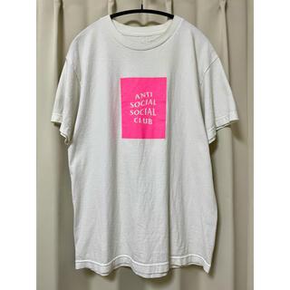 アンチ(ANTI)のアンチソーシャルソーシャルクラブ ロゴTシャツ ホワイト M(Tシャツ/カットソー(半袖/袖なし))