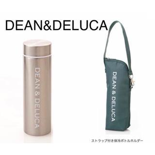 ディーンアンドデルーカ(DEAN & DELUCA)の【新品未使用】DEAN&DELUCA 限定ステンレスボトル ボトルケース 2点(ファッション)