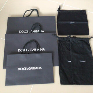 ドルチェアンドガッバーナ(DOLCE&GABBANA)のドルチェガッバーナショップ袋6点(ショップ袋)