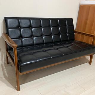 カリモクカグ(カリモク家具)のカリモク60 Kチェア 2シーター (二人掛けソファ)