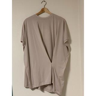 エンフォルド(ENFOLD)のENFOLD ソフト天竺タックTシャツ(Tシャツ(半袖/袖なし))