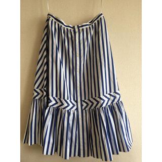 ポロラルフローレン(POLO RALPH LAUREN)のラルフローレン タグ付き フレアータック スカート(ひざ丈スカート)