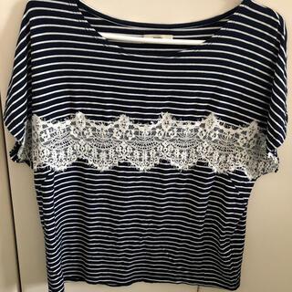ミスティック(mystic)のmystic   ボーダー  トップス Tシャツ(Tシャツ(半袖/袖なし))