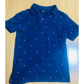 ユニクロ(UNIQLO)のユニクロポロシャツメンズ(紺・Sサイズ)(その他)