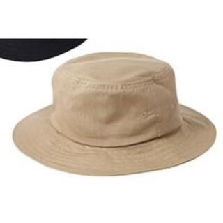 ムジルシリョウヒン(MUJI (無印良品))の無印良品 綿平天ハット オーガニックコットン 57.5cm ベージュ 平天帽子(ハット)