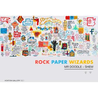 新品未使用!Mr DoodleXShem Wizards ED1000 ポスター(版画)