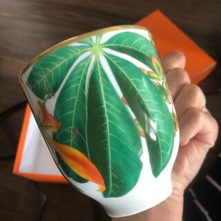 エルメス(Hermes)の新品未使用 エルメス 雨林 マグカップ(グラス/カップ)