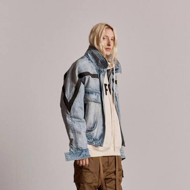 FEAR OF GOD(フィアオブゴッド)のfear of god ski denim jacket デニムジャケット メンズのジャケット/アウター(Gジャン/デニムジャケット)の商品写真