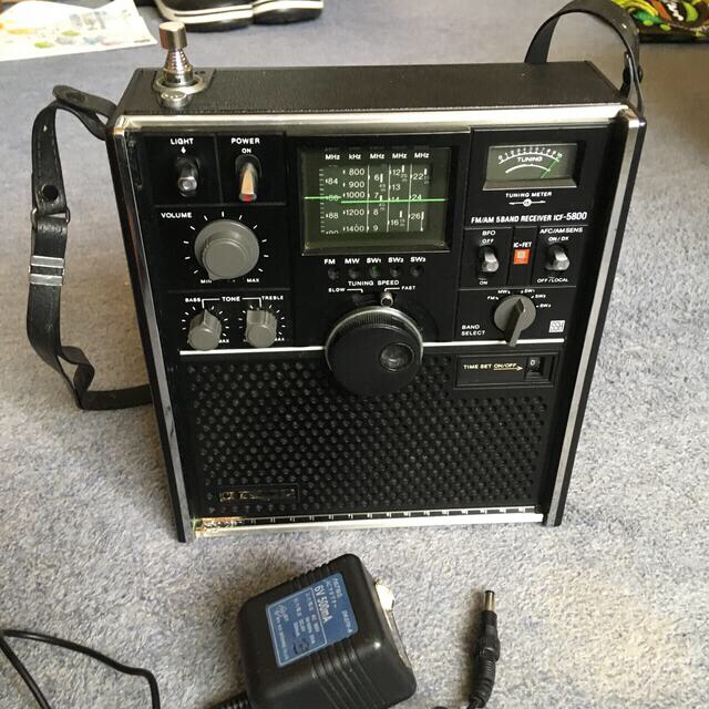 SONY(ソニー)のSONY 短波ラジオ スマホ/家電/カメラのオーディオ機器(ラジオ)の商品写真
