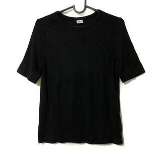 ロンハーマン(Ron Herman)のロンハーマン 半袖カットソー サイズS - 黒(カットソー(半袖/袖なし))