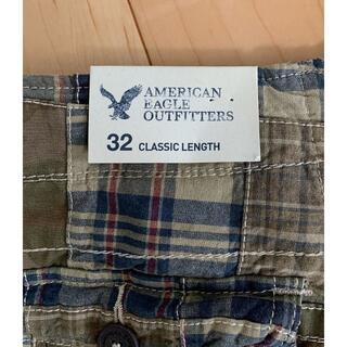 アメリカンイーグル(American Eagle)のアメリカンイーグル パッチワーク カーゴパンツ 未使用品♪(ショートパンツ)
