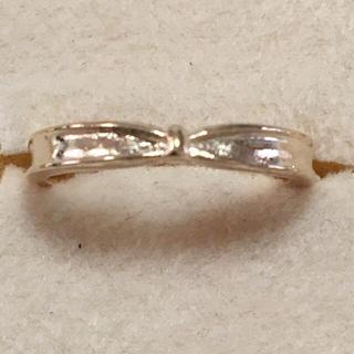 海外 ゴールド プチ リボン リング 12号(リング(指輪))