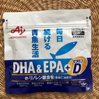 アジノモト(味の素)の味の素 DHA&EPA+ビタミンD 120粒入り   (ビタミン)