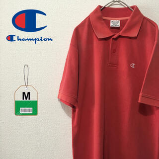 Champion - チャンピオン champion ポロシャツ 古着 刺繍ロゴ 半袖