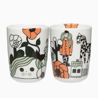 マリメッコ(marimekko)のマリメッコ マグカップ(ハンドルなし)(マグカップ)