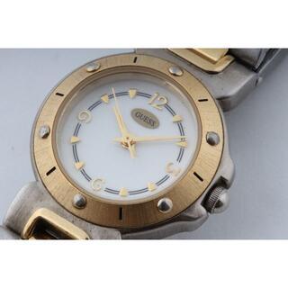 ゲス(GUESS)のGUESS ゲス レディース コンビ クォーツ 電池交換済(H00616)(腕時計)