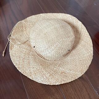 ムジルシリョウヒン(MUJI (無印良品))の無印良品 麦わら帽子(帽子)