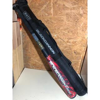 ゼット(ZETT)のゼット 少年軟式 ブラックキャノン グレート bct75008 1ヶ月使用(バット)
