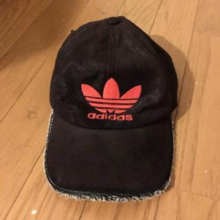 アディダス(adidas)のⓂ︎さん専用【vintage adidas キャップ】ブラックブラウン×オレンジ(キャップ)