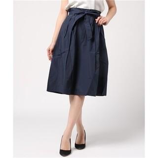 サマンサモスモス(SM2)のサマンサモスモスウエストリボンスカート(ひざ丈スカート)