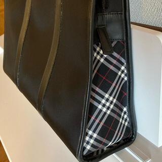 バーバリーブラックレーベル(BURBERRY BLACK LABEL)のバーバリー ブラックレーベル ビジネスバッグ 希少 レア(ビジネスバッグ)