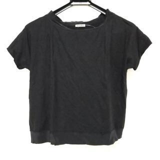 ミュウミュウ(miumiu)のミュウミュウ 半袖Tシャツ サイズS - 黒(Tシャツ(半袖/袖なし))