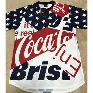 エフシーアールビー(F.C.R.B.)のSALE FCRB コカコーラコラボ新品t(Tシャツ/カットソー(半袖/袖なし))