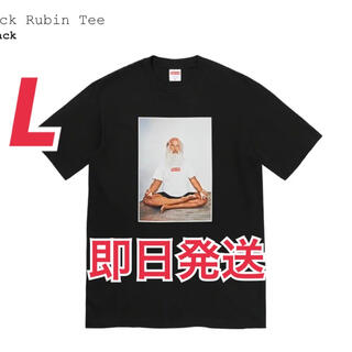 Supreme Rick Rubin Tee 黒L(Tシャツ/カットソー(半袖/袖なし))