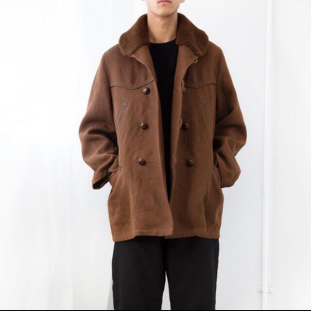 COMOLI(コモリ)の新品 comoli コモリ カナディアンコート ブラウン サイズ2 メンズのジャケット/アウター(ミリタリージャケット)の商品写真