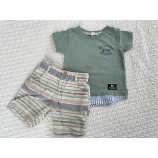 サマンサモスモス(SM2)のSamansamos2のTシャツとズボン(Tシャツ/カットソー)