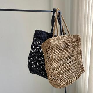 トゥデイフル(TODAYFUL)のwillfully | rough rattan basket BAG(かごバッグ/ストローバッグ)