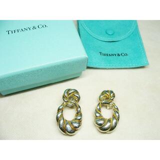 ティファニー(Tiffany & Co.)のティファニーツイストロープリングコンビイヤリングシルバーAG925K18YG(イヤリング)