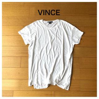 ビンス(Vince)のVINCE 白 ゆるTシャツ sizeS(Tシャツ(半袖/袖なし))