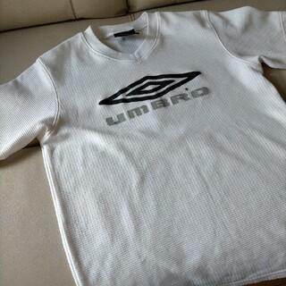 アンブロ(UMBRO)のumbro 140 白 プラクティスTシャツ(ウェア)
