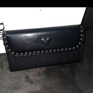 ディオール(Dior)のDior ディオール エスニックライントロッター ハート 長財布(財布)