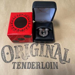 テンダーロイン(TENDERLOIN)の人気品! TENDERLOIN ホースシューリング ダイヤモンド シルバー 10(リング(指輪))
